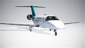 Citation CJ4 Aer Lingus (with custom Interior) UPDATED Image Flight Simulator 2020