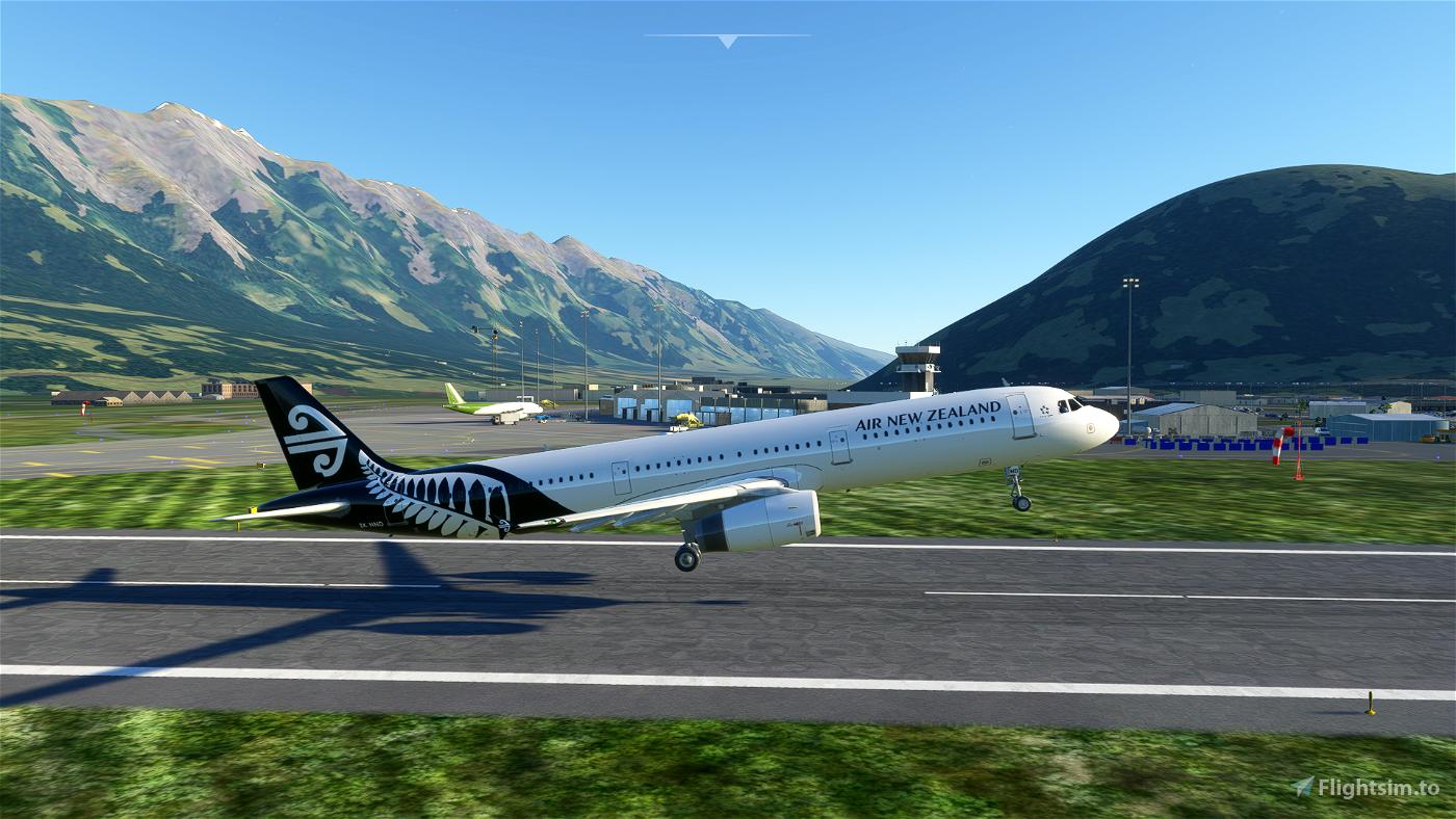 A321 Air New Zealand [8K/4K] Flight Simulator 2020