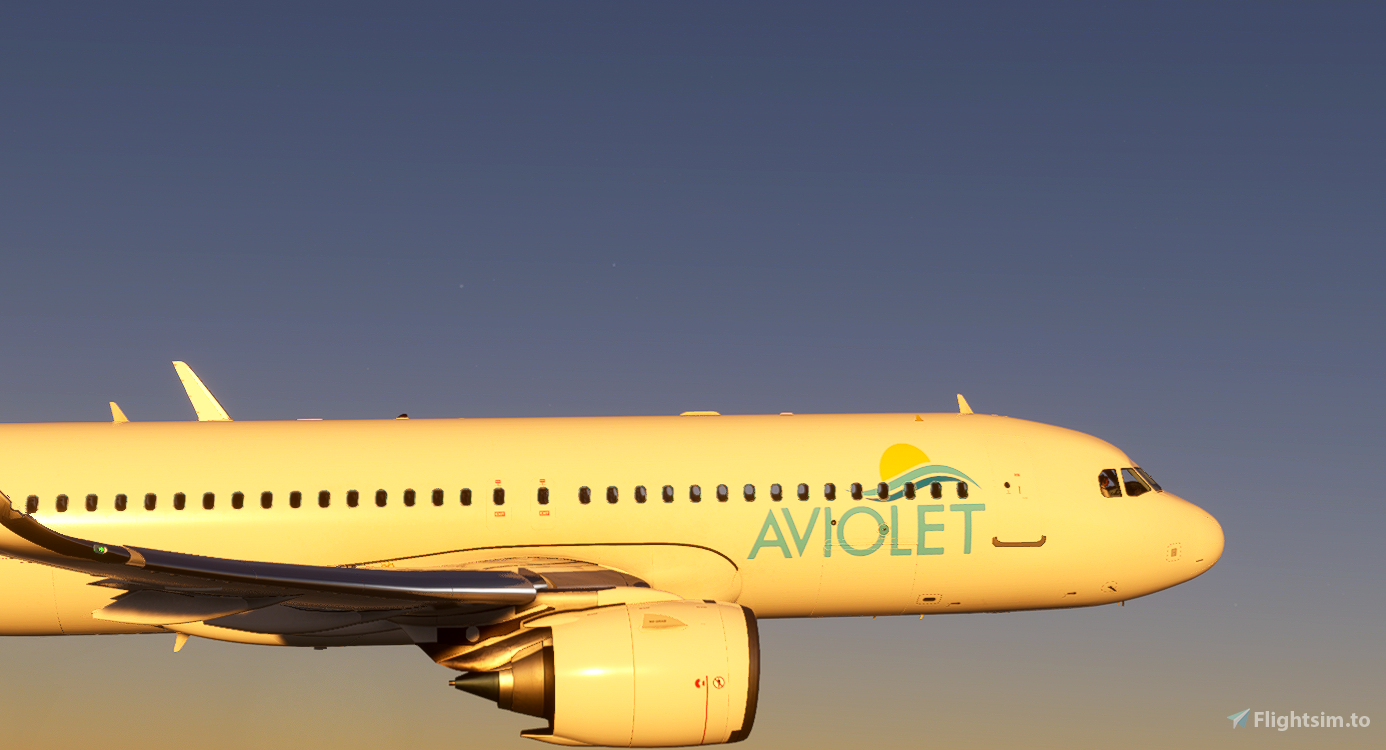 Airbus A320neo Aviolet