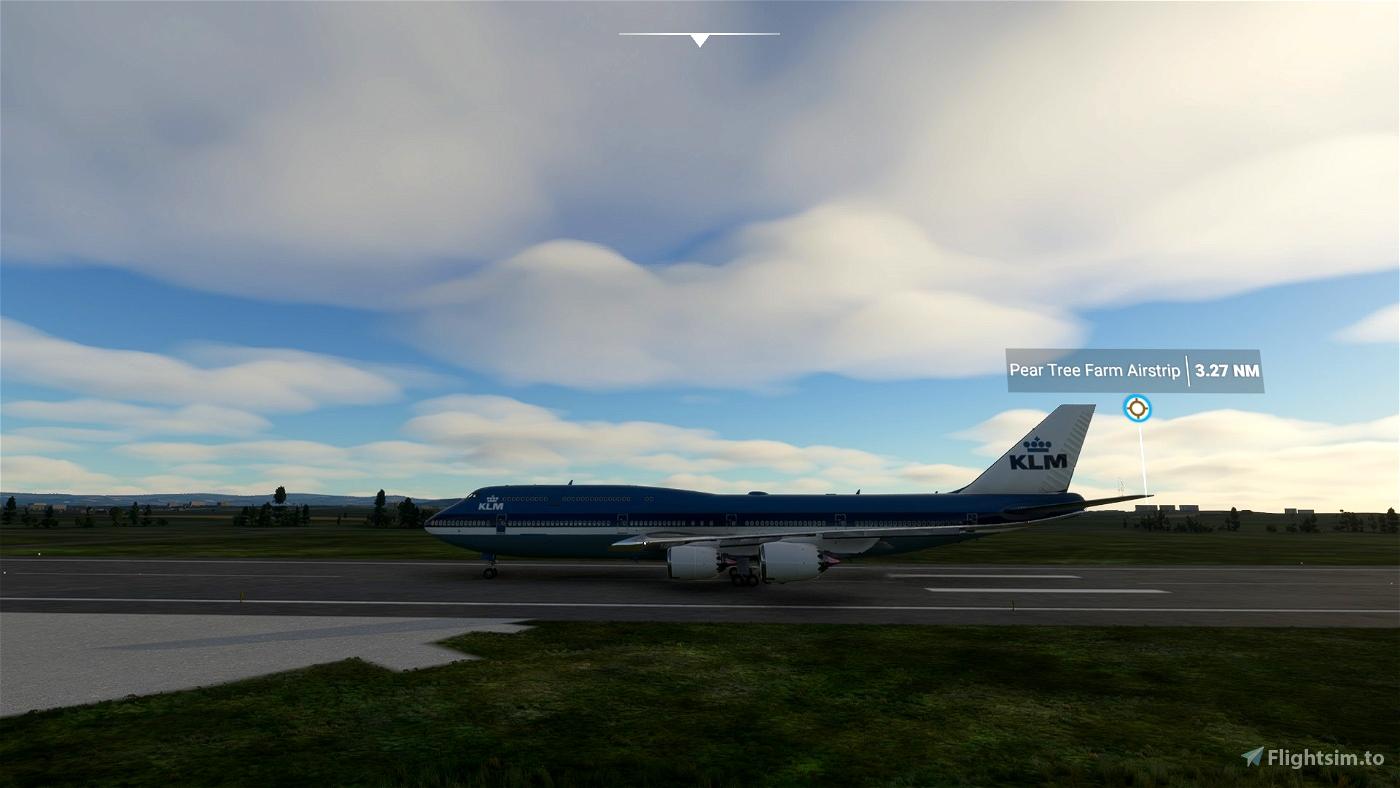 KLM 747-8i (Retro)