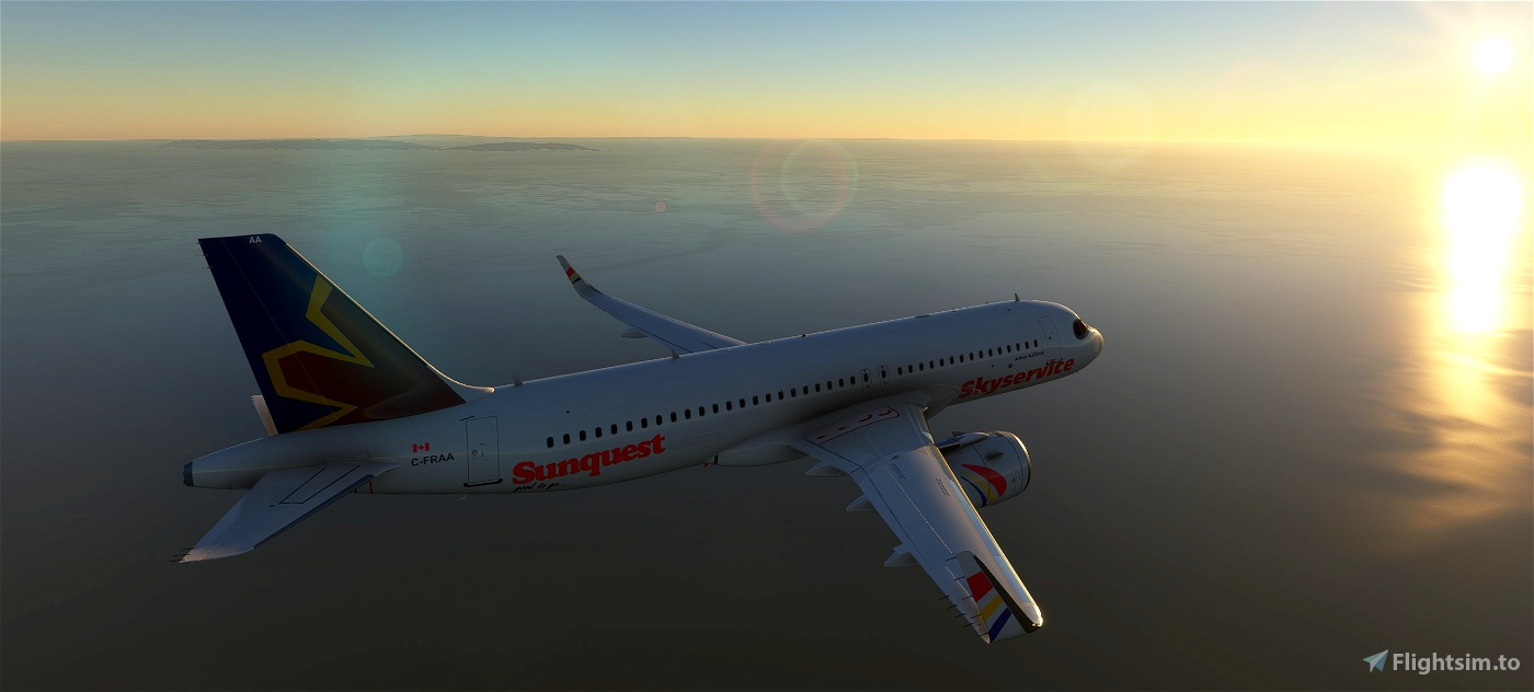 A320Neo Skyservice Pack -8K