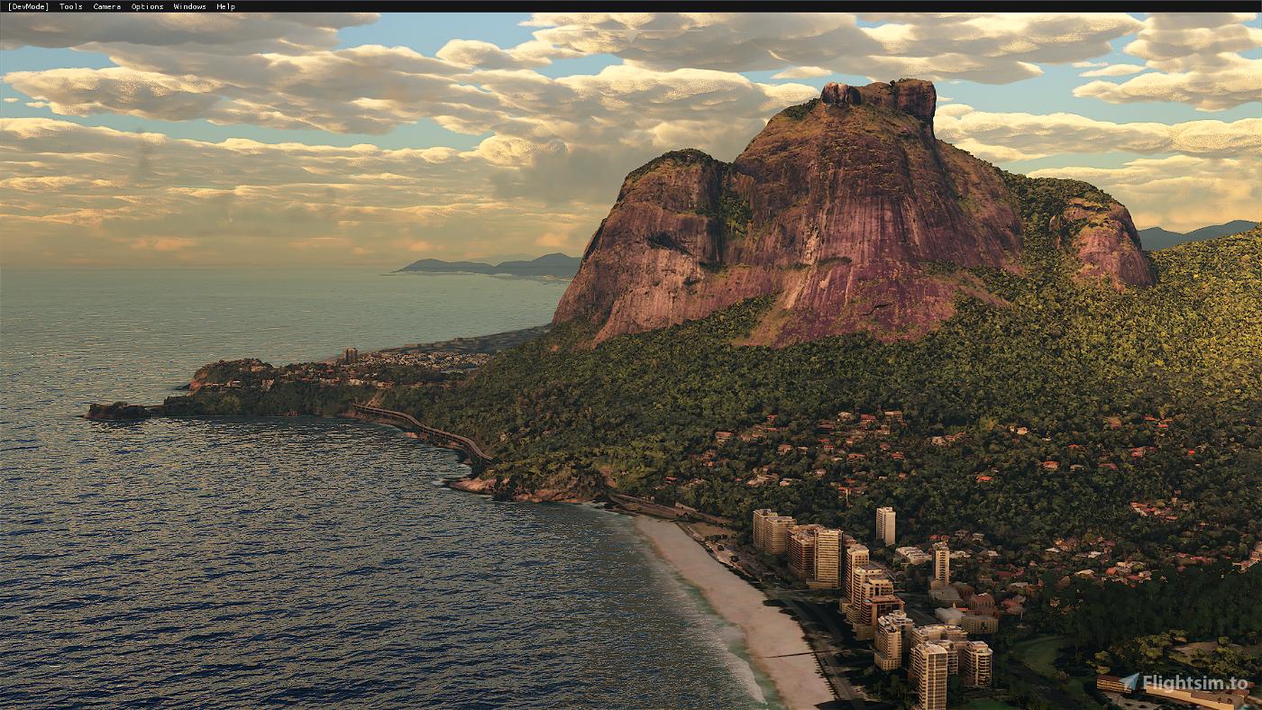 Rio de Janeiro Megapack Montanhas Flight Simulator 2020