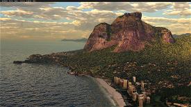 Rio de Janeiro Megapack Montanhas Microsoft Flight Simulator
