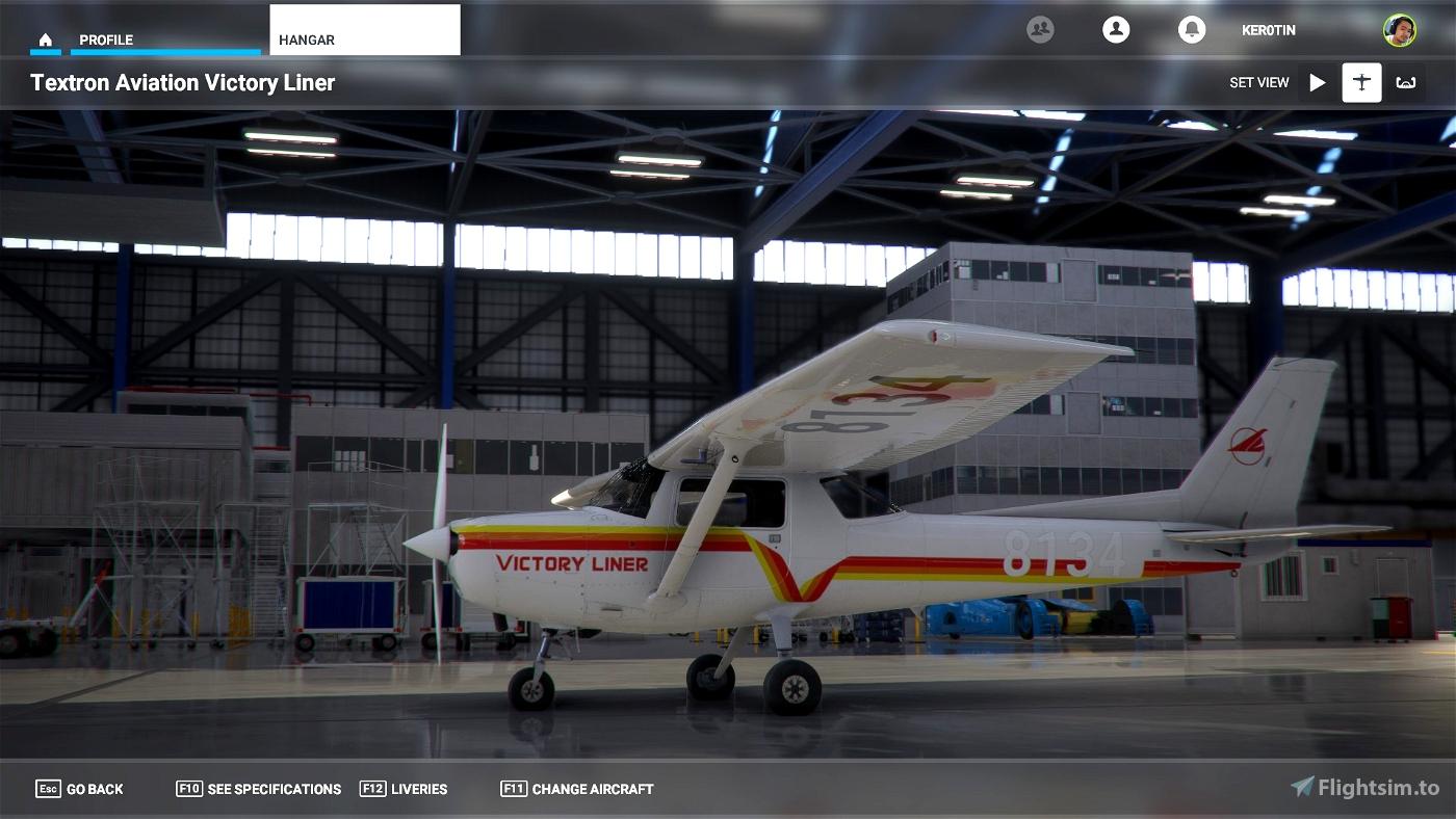 C152 Victory Liner Flight Simulator 2020