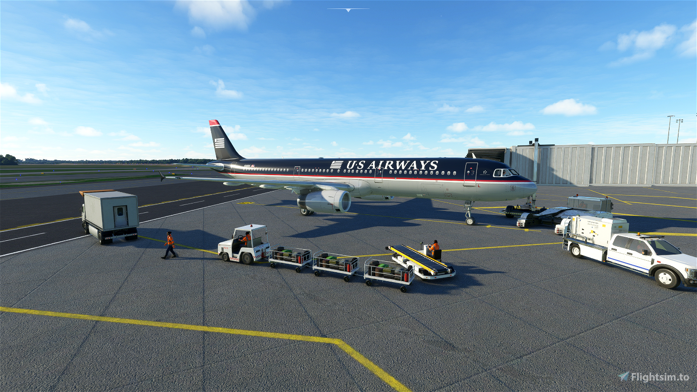 US Airways A321 (Old Colors)