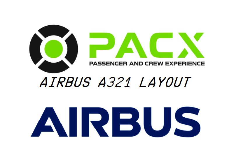 Better a321 cabin layout (european business class) for PACX Flight Simulator 2020