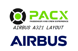 Better a321 cabin layout (european business class) for PACX Image Flight Simulator 2020