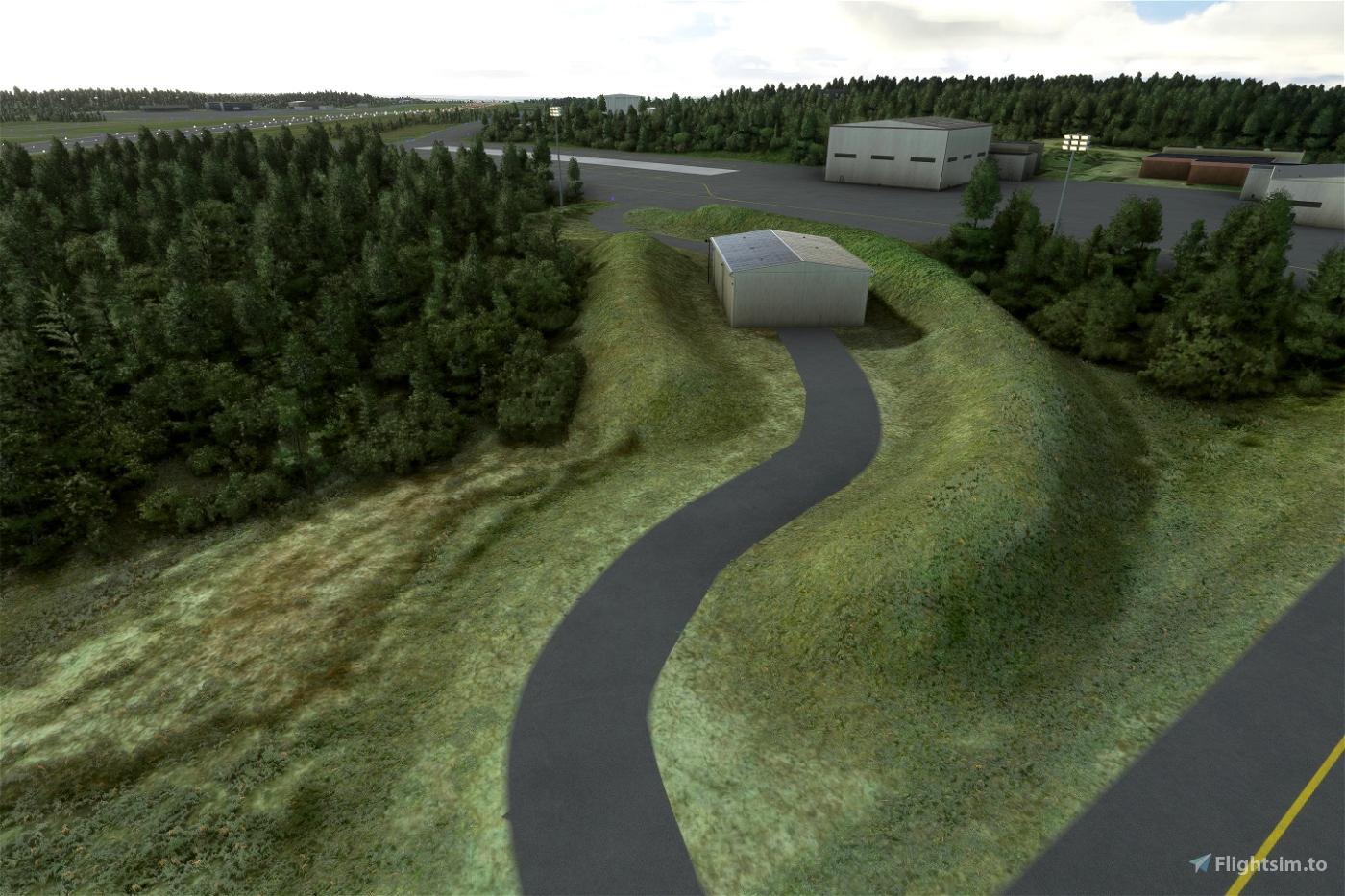 Finland- 3D airport heightmaps