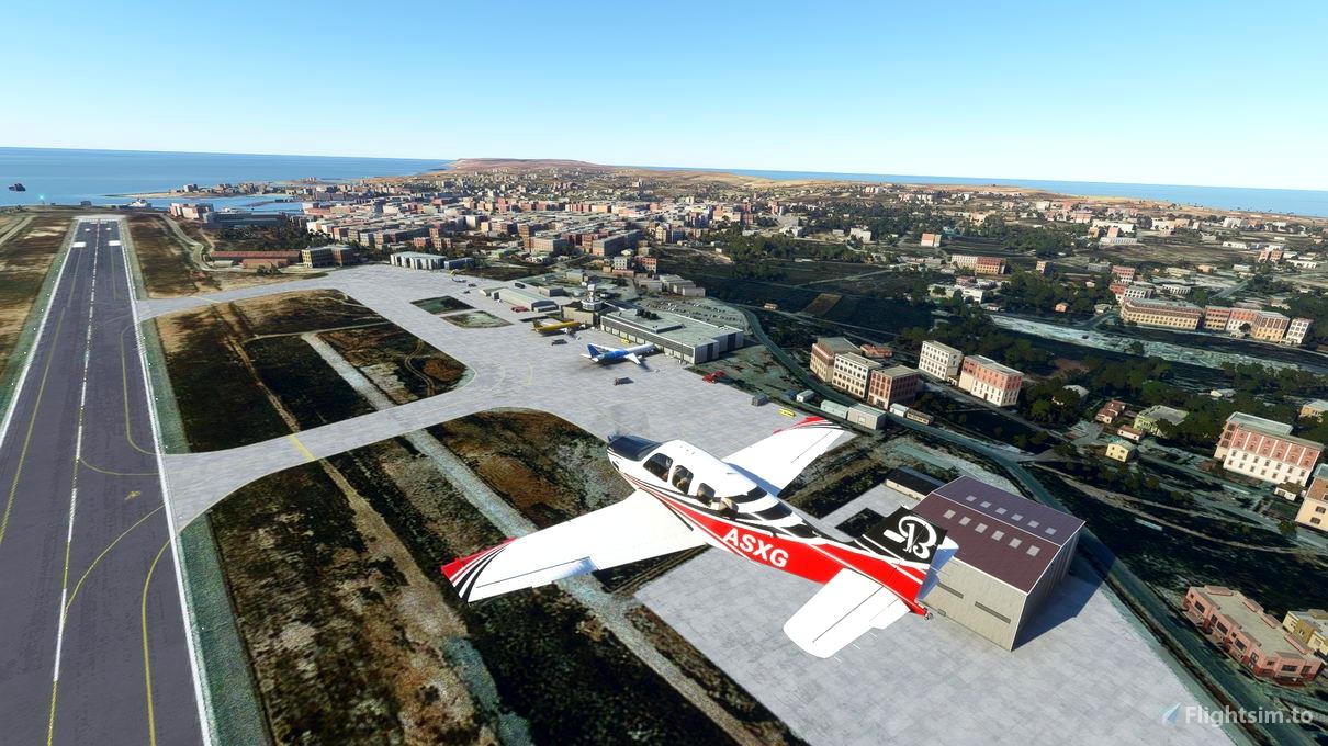 lampedusa airport LICD