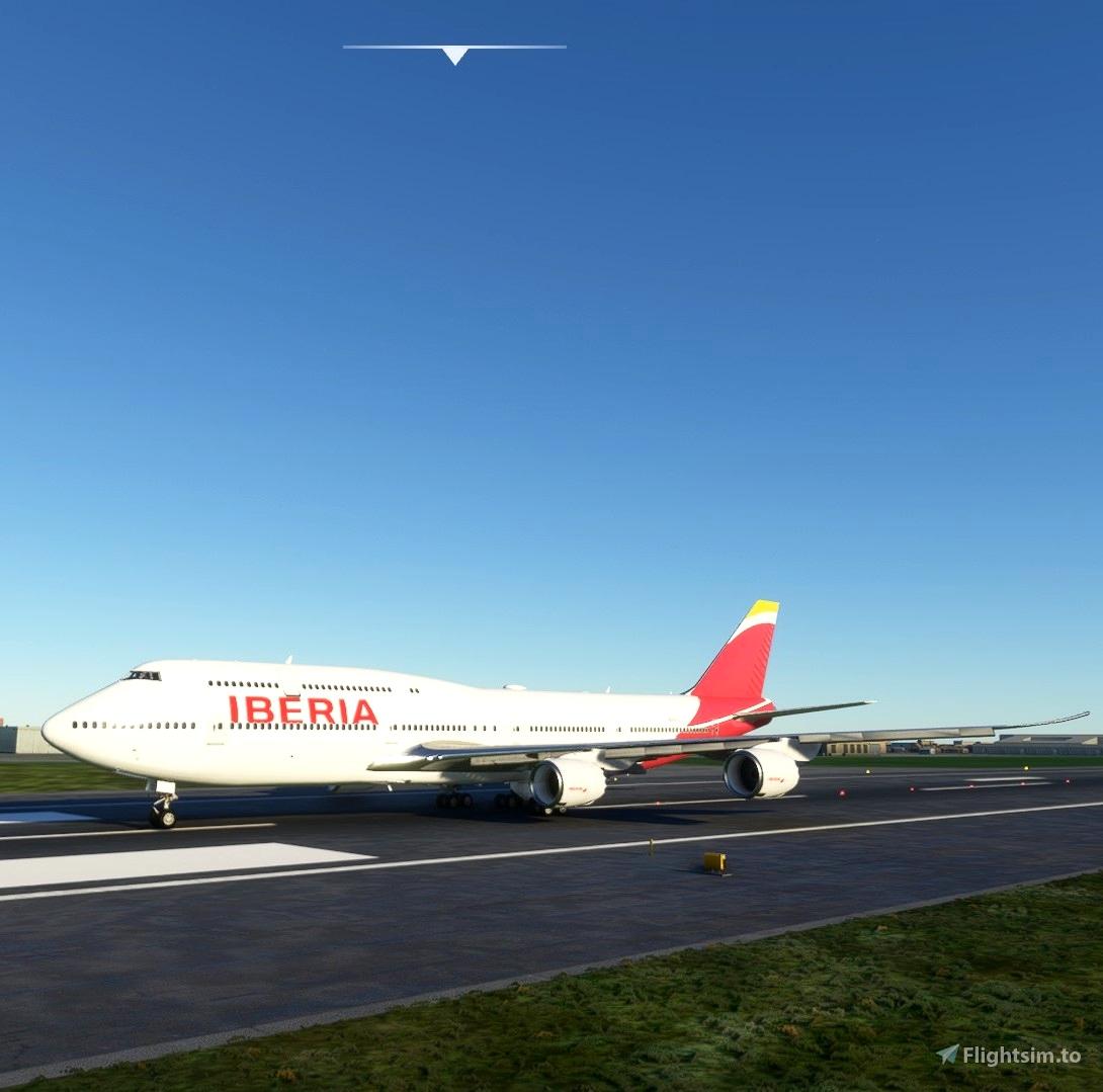 Iberia 747-8