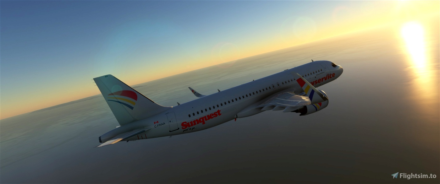 A320Neo Skyservice Pack -8K Flight Simulator 2020
