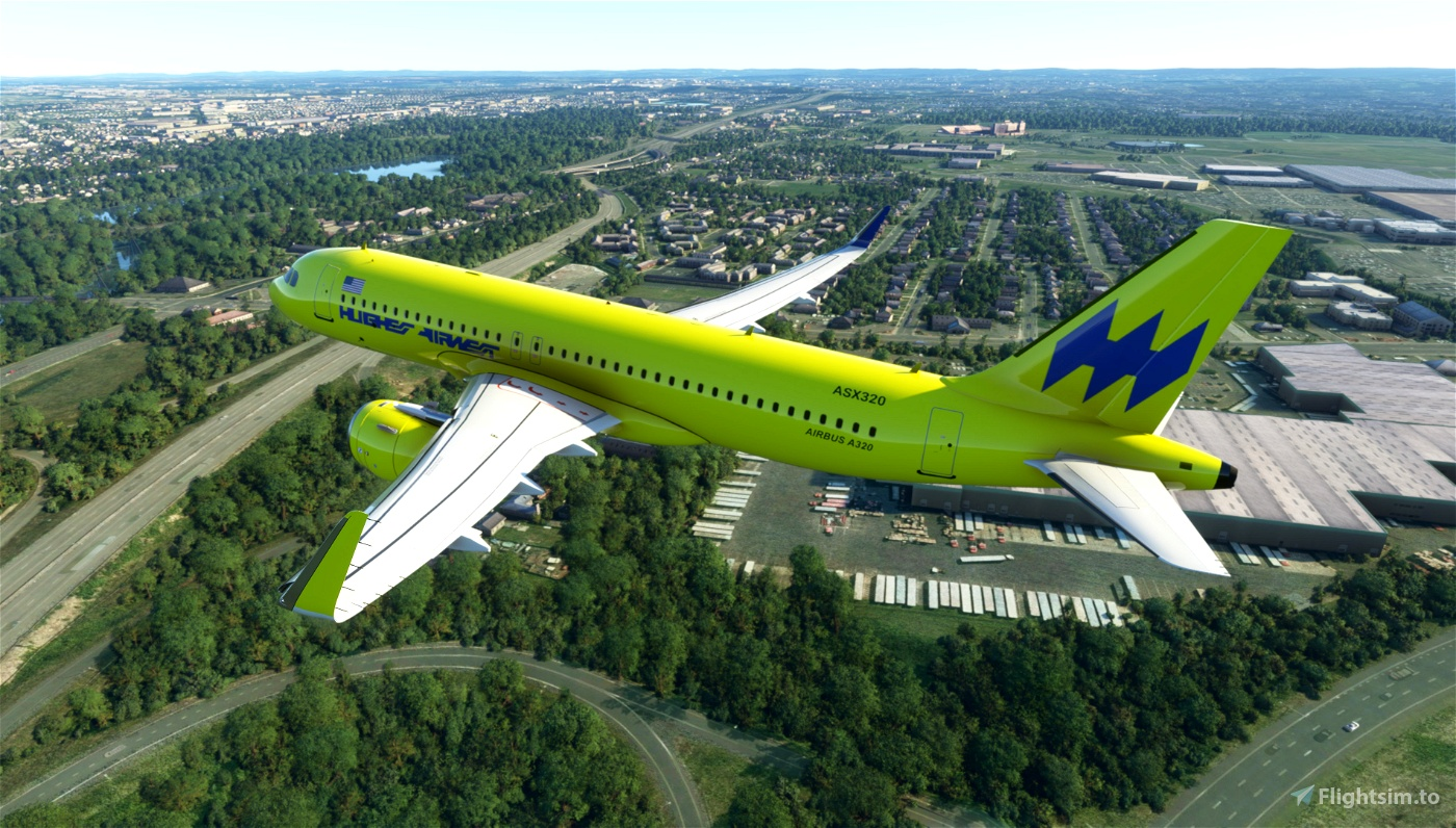 Hughes Air West Flight Simulator 2020