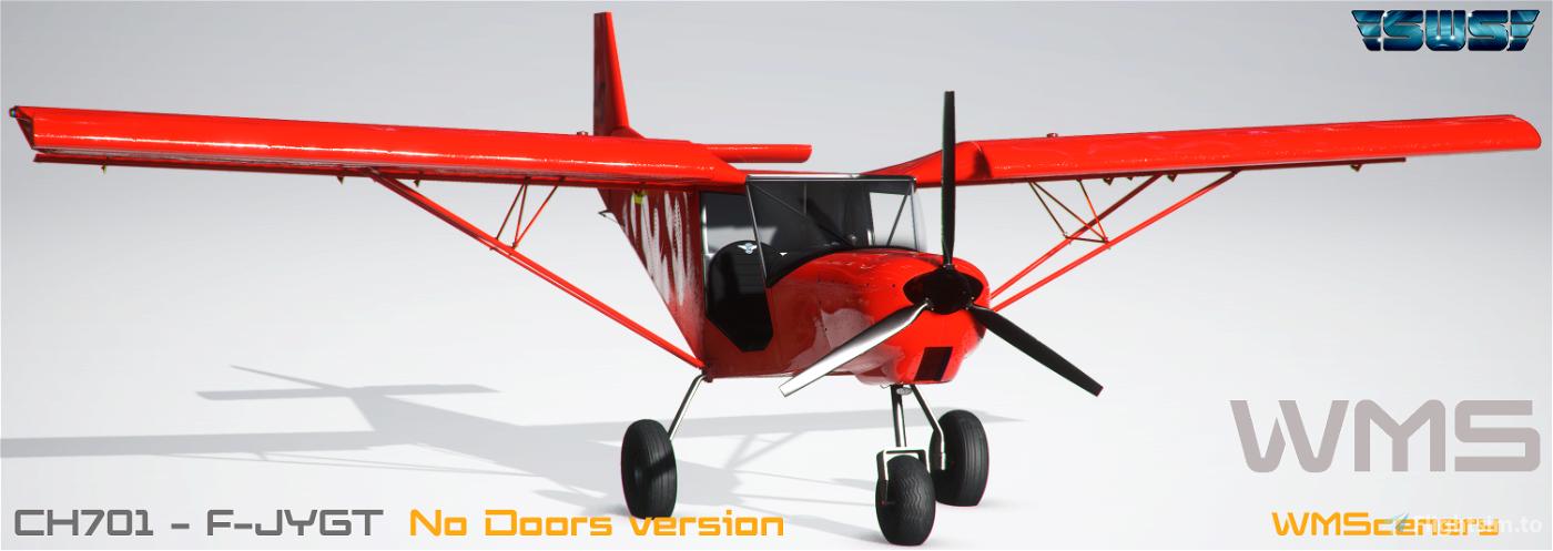 SWS-CH701-F-JYGT Repaint Flight Simulator 2020