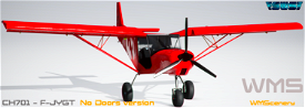 SWS-CH701-F-JYGT Repaint Image Flight Simulator 2020