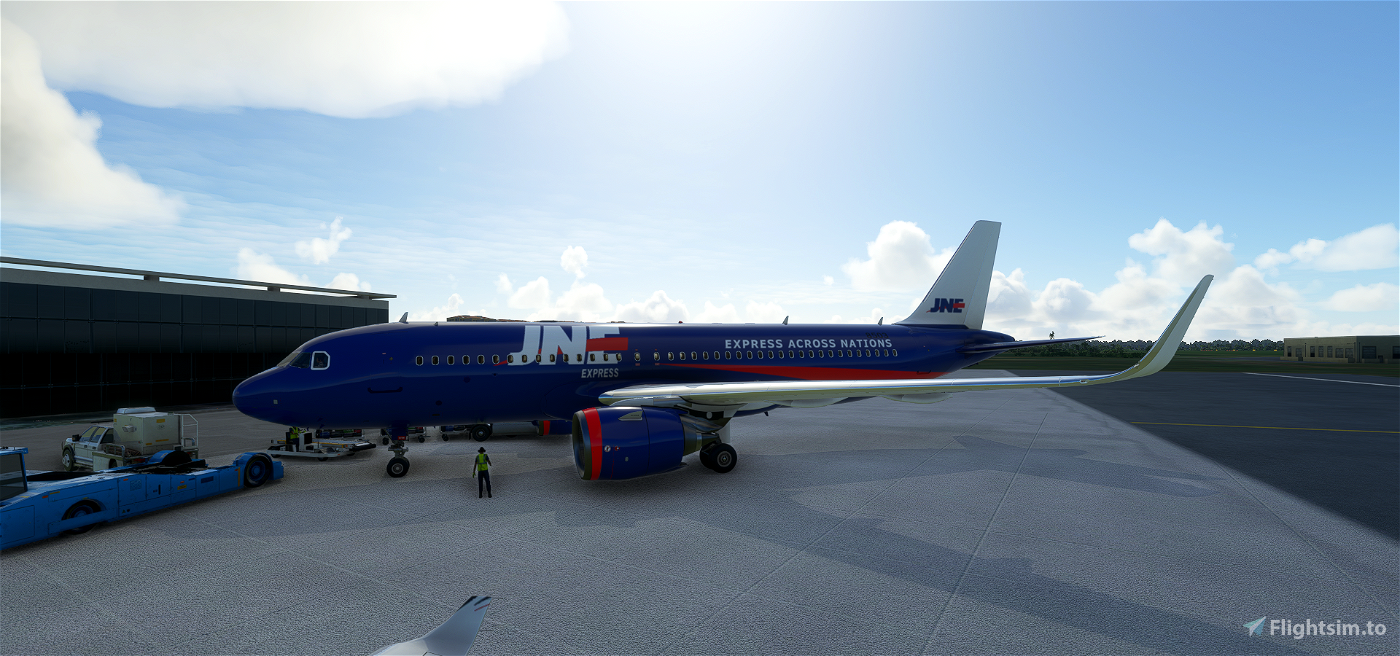 JNE Express Microsoft Flight Simulator