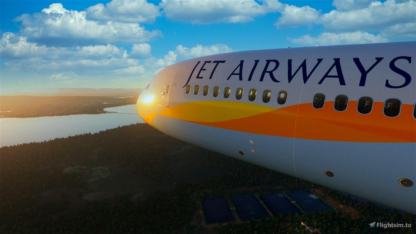 [8K] Jet Airways Flight Simulator 2020