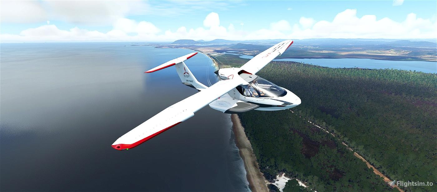 The New South Wales Coast - Australian Bush Trip Flight Simulator 2020
