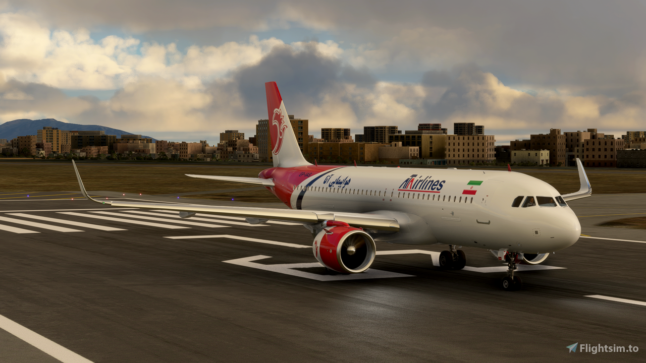 ATA Airline A320 Neo - 8K