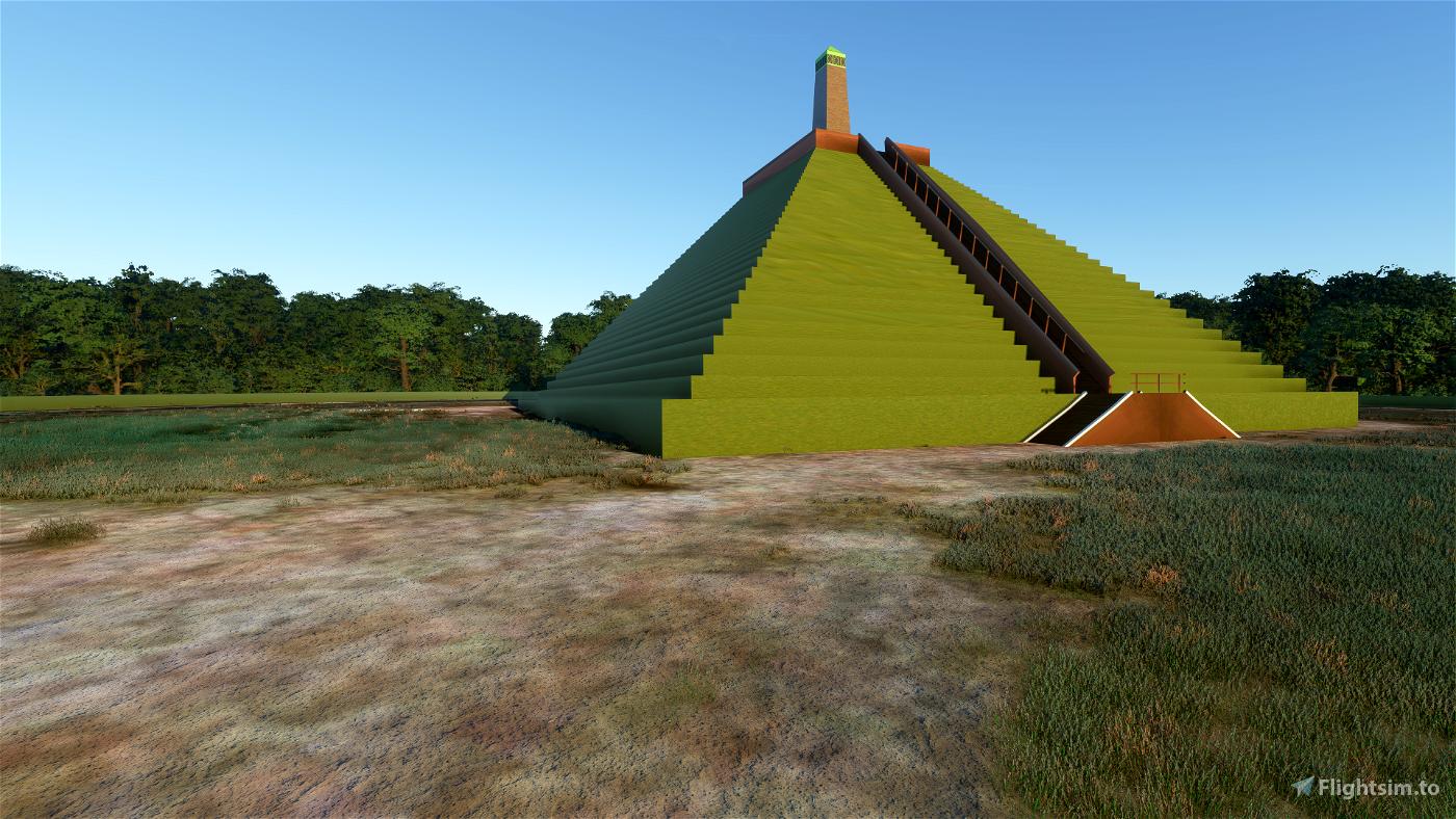 Pyramide of Austerlitz Flight Simulator 2020