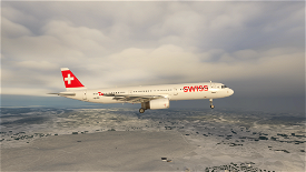 A321 Swiss [8K/4K] Image Flight Simulator 2020