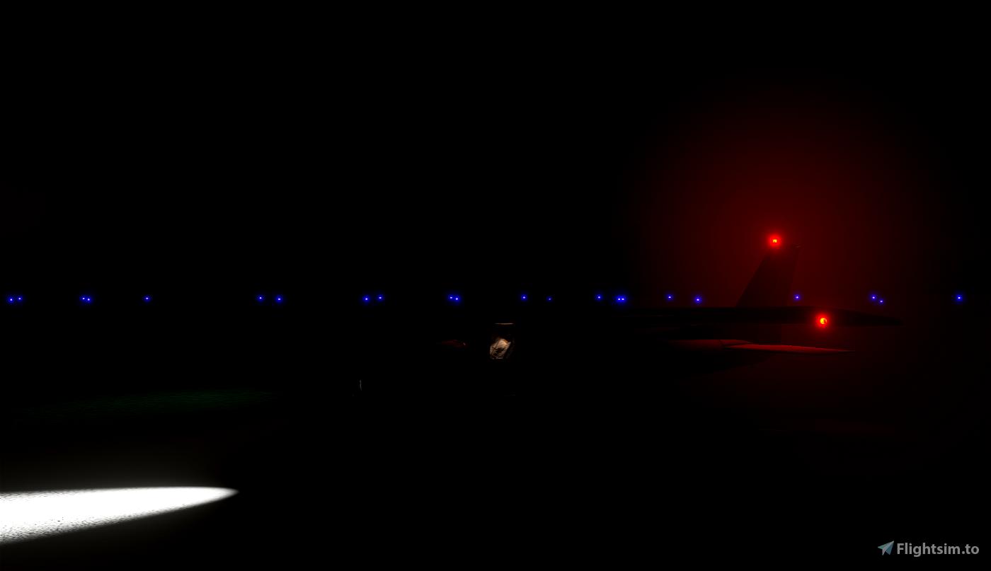 Enhanced lights for Cessna 152 Flight Simulator 2020