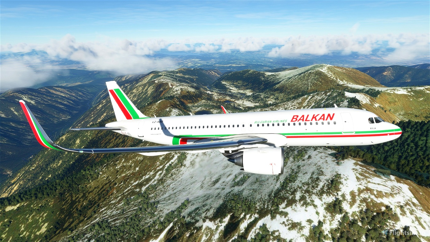 BALKAN Bulgarian Airlines - БАЛКАН Flight Simulator 2020