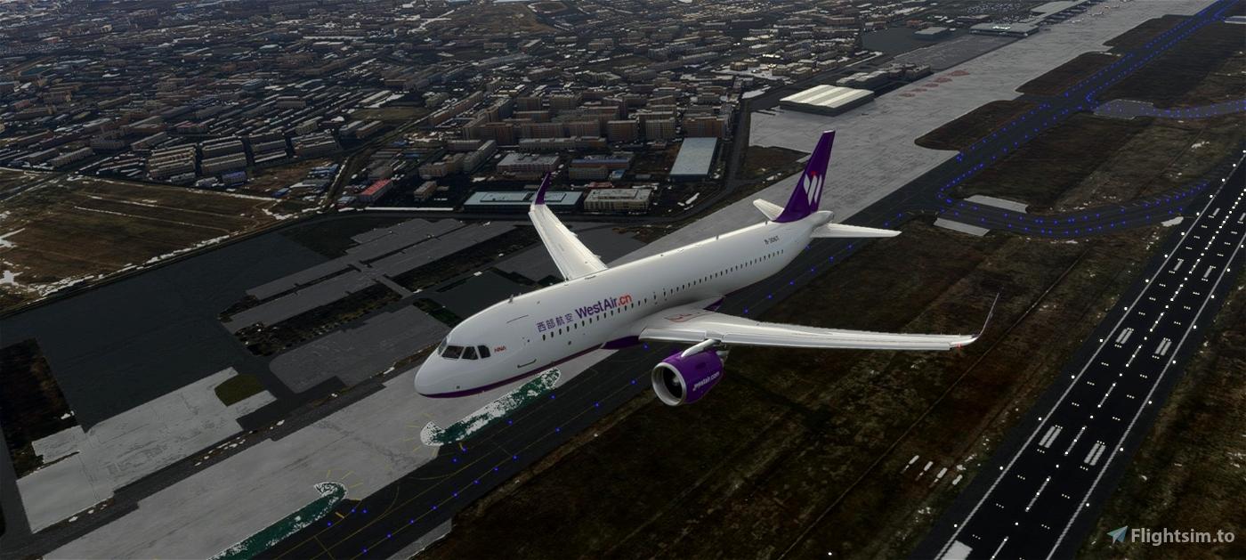 West Air A320neo