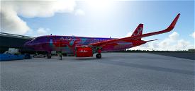 AirAsia Image Flight Simulator 2020