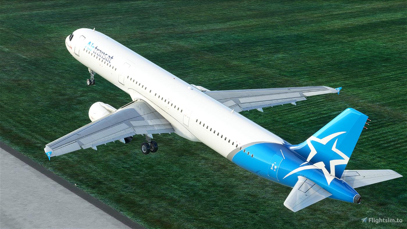 [8K] Air Transat A321 livery