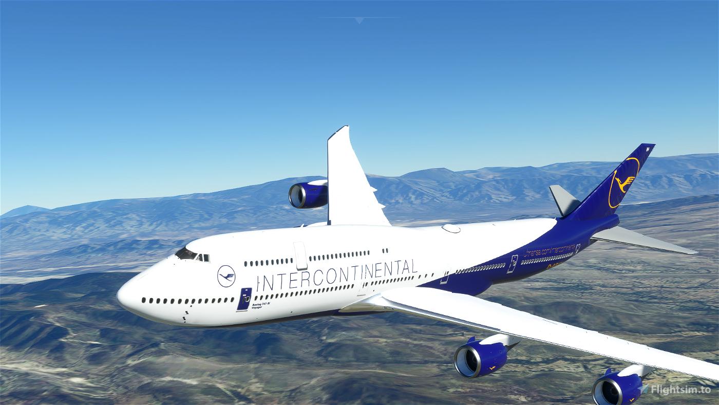 B747-8 Lufthansa Intercontinental [8K] Flight Simulator 2020