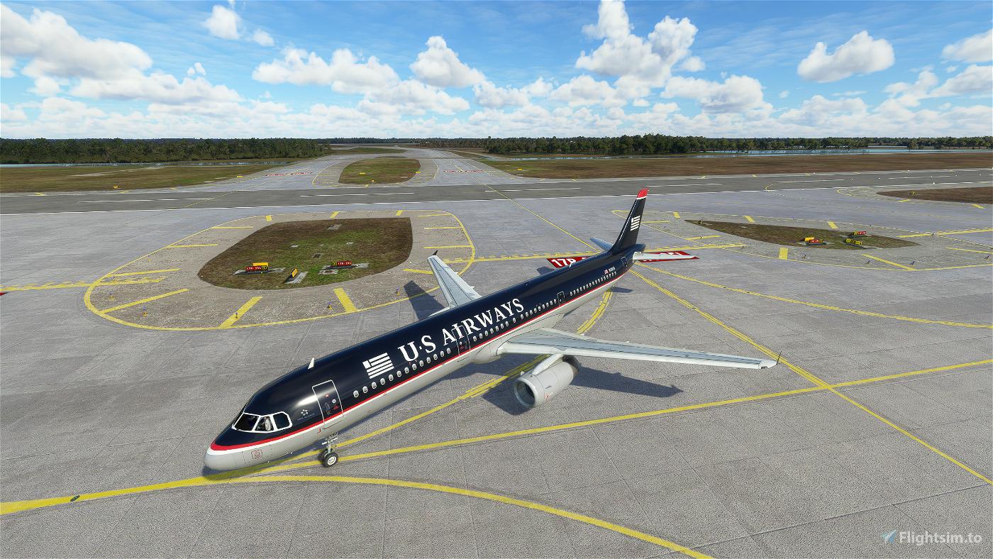 US Airways A321 (Old Colors) Flight Simulator 2020