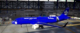 A320Neo Toronto Maple Leafs Image Flight Simulator 2020