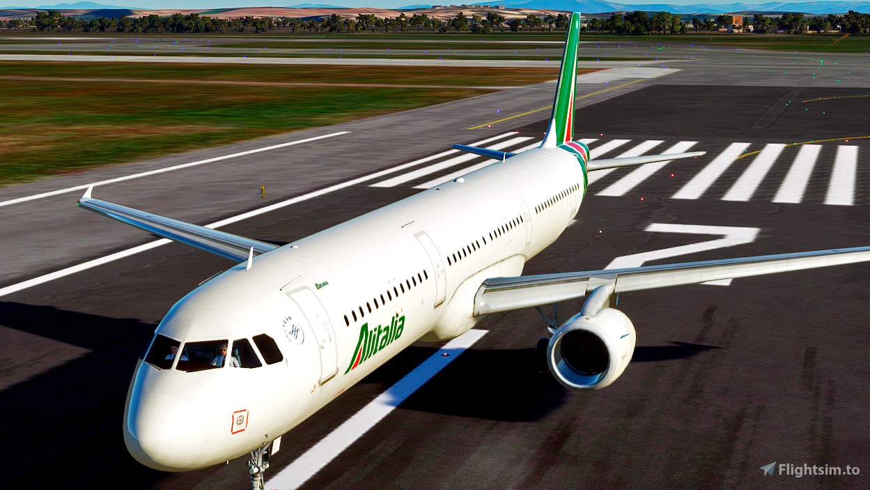 Alitalia [4K] Flight Simulator 2020