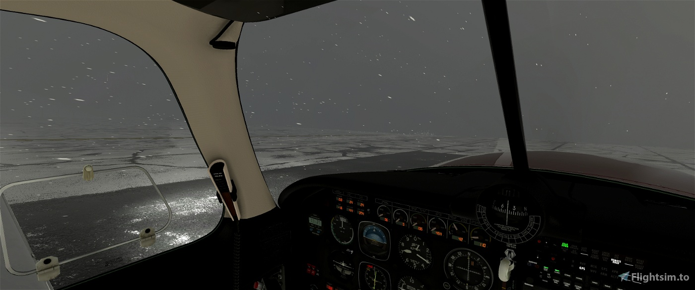No Windshield Icing Mooney Ovation Flight Simulator 2020