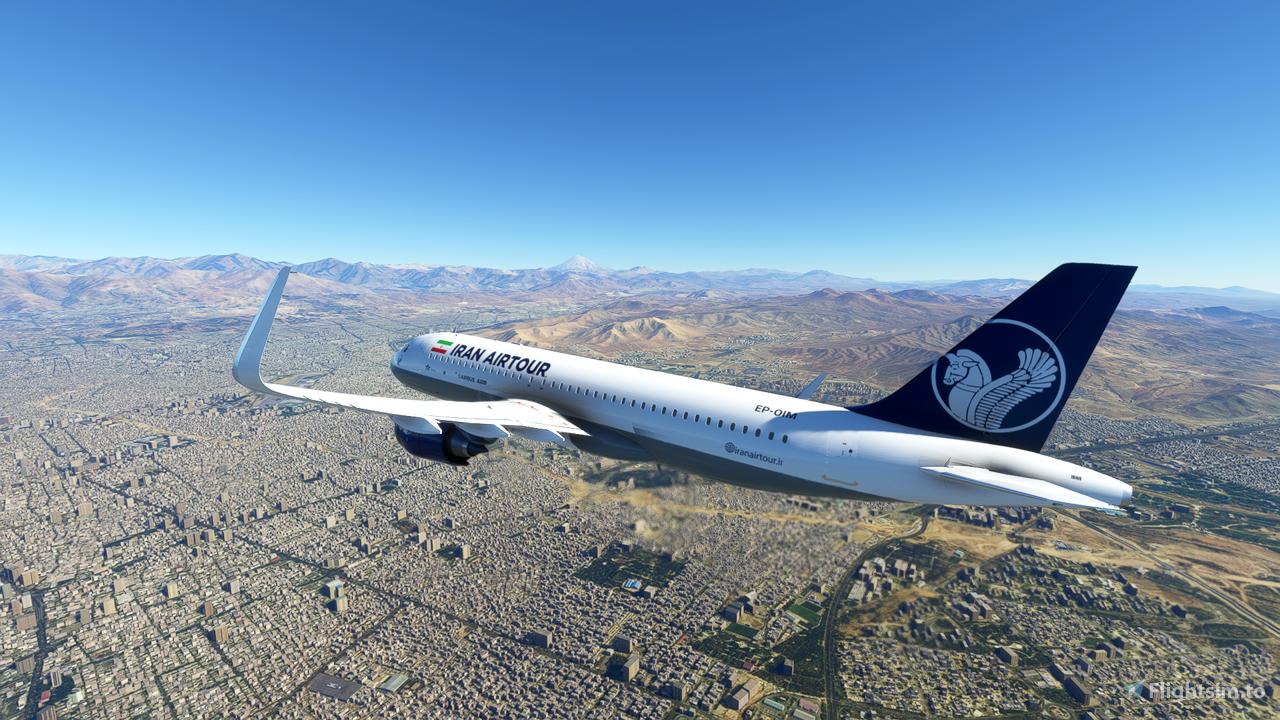Iran Air Tour A320 Neo Flight Simulator 2020