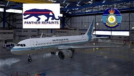 Asobo A320 NEO 40 SQN ROYAL NEW ZEALAND AIR FORCE 4K Image Flight Simulator 2020