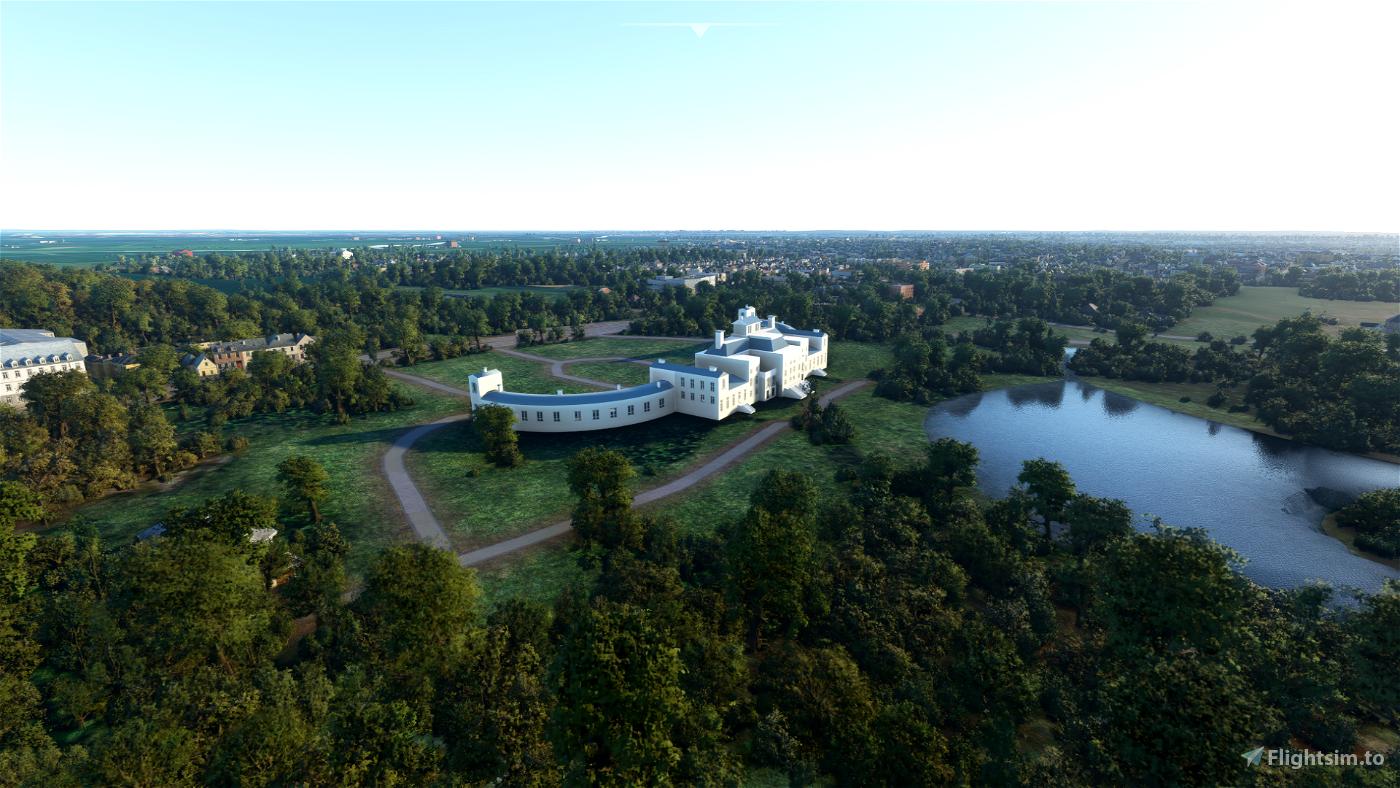 Palace Soestdijk Flight Simulator 2020