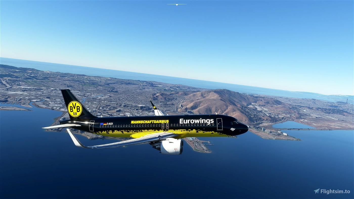 Eurowings (Mannschaftairbus) BVB(8K)[D-AIZR]