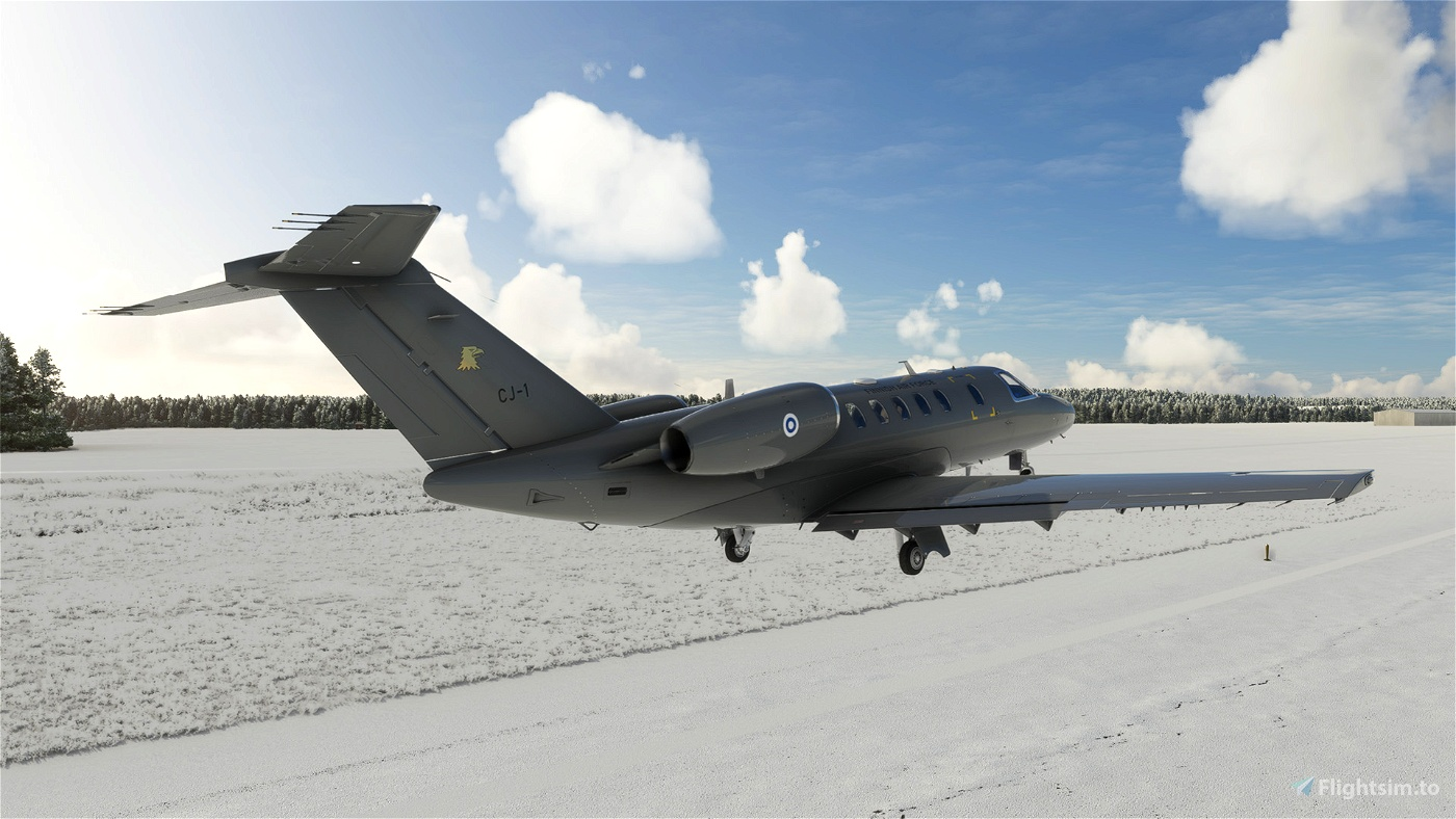 Cessna CJ4 - Finnish Air Force