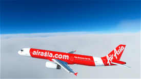 AirAsia [4K] Image Flight Simulator 2020