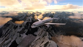 Pakistan International Airlines Retro [1960] Livery [4k] Image Flight Simulator 2020