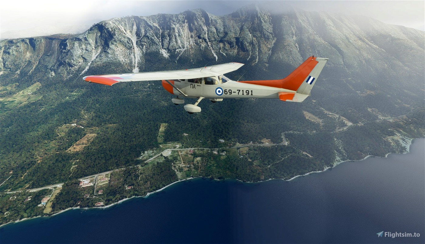 HAF T-41D (Cessna R-172) Flight Simulator 2020