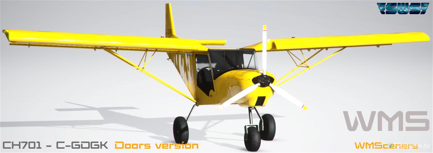 SWS-CH701-C-GDGK Repaint Flight Simulator 2020
