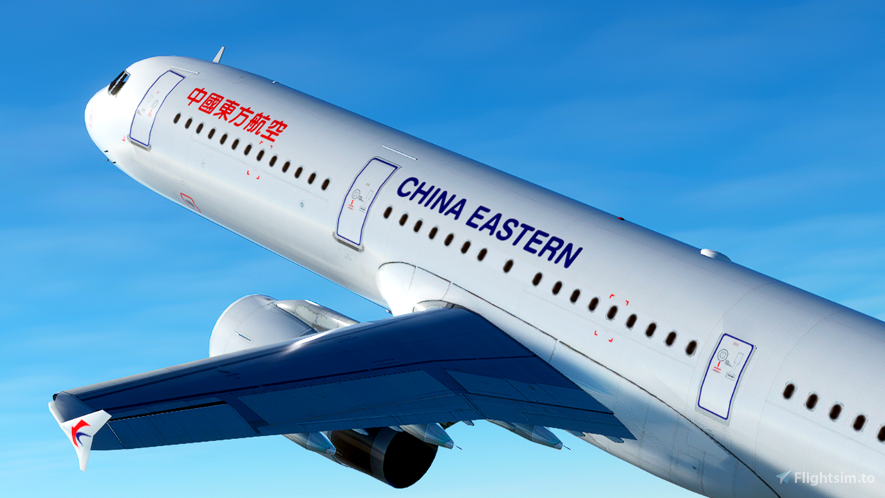 China Eastern Airlines [4K] Flight Simulator 2020