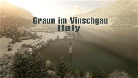 Graun im Vinschgau, Italy - Alpine Atlantis Image Flight Simulator 2020