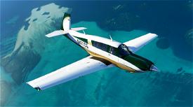Green and Gold Livery for Carenado Mooney Image Flight Simulator 2020