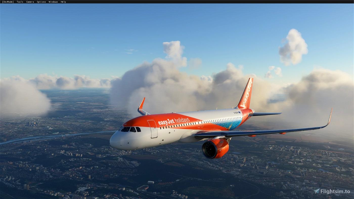 A320 NEO EasyJet Holidays