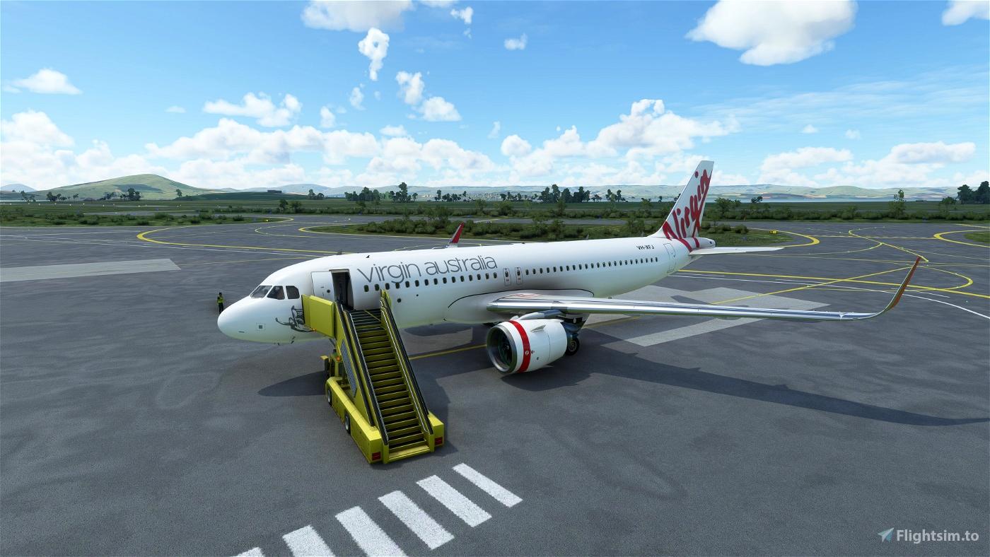 Virgin Australia A320 Flight Simulator 2020