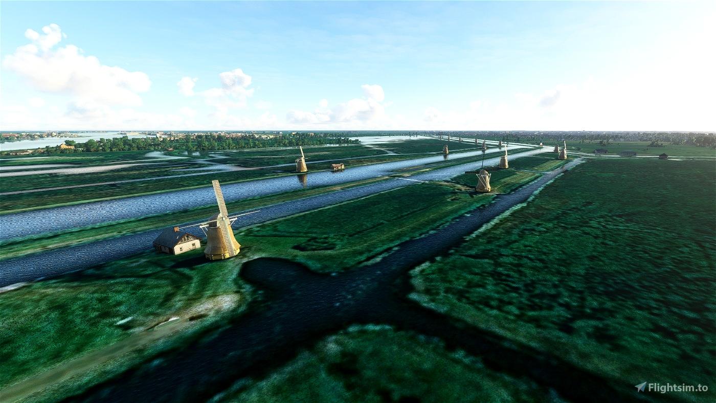 Kinderdijk Flight Simulator 2020