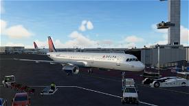 A321 Delta Airlines [8K/4K] Microsoft Flight Simulator